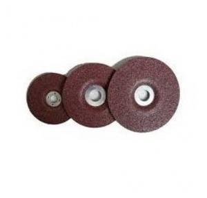 Cumi Brown Aluminium Oxide Wheel, Dimension: 200 x 13 x 31.75 mm, Grade: Medium