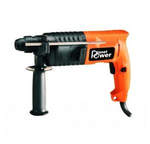 Planet Power PH22 Orange Rotary Hammer, 800 W, 900 rpm