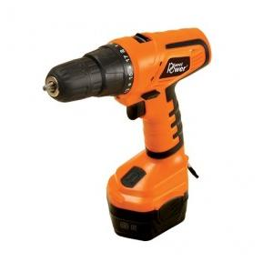 Planet Power PCD12 Orange Cordless 12V DC Drill/Drivers, 350 - 1000 rpm